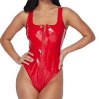 Naughty But Nice Latex Bodysuit