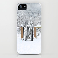Into Narnia iPhone & iPod Case by Lauren Lee Designs