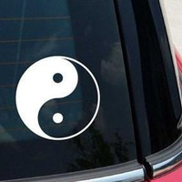 Yin Yang Decal Sticker for Car Window, Laptop wall