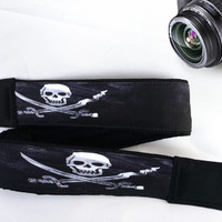 Skull Camera Strap. Halloween Camera Strap. Cool Camera Strap.
