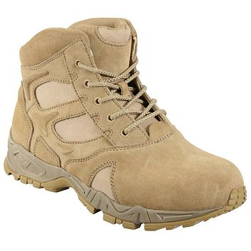 """Rothco 6"""" Forced Entry Desert Tan Deployment Boot"""