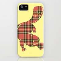 Plaid-apus iPhone Case by Jonah Block | Society6