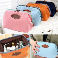 Women Travel Cosmetic Bag Makeup Case Pouch Toiletry Zip Wash Organizer