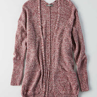 Don't Ask Why Oversized Cardigan, Burgundy