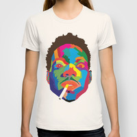 Chance The Rapper Colorblock T-shirt by Dailygray