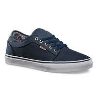 VANS Chukka Low (Totem) Navy/White Casual Shoes MEN'S 7 WOMEN'S 8.5
