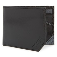 Men's Ted Baker London Leather Wallet - Black