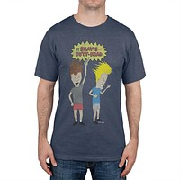 Beavis and Butthead - Head Banger Logo Soft T-Shirt