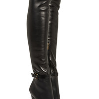 Jimmy Choo Tamba stretch-leather over-the-knee boots NET-A-PORTER.COM