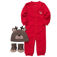 3-Piece Christmas Outfit Set