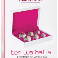 Shots Toys Ben Wa Balls Set - Glass