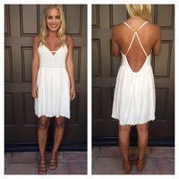 Annabelle Daisy Chain Dress - CREAM