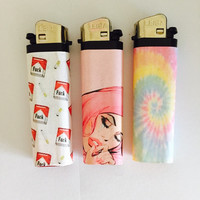 Space Case Lighter Set