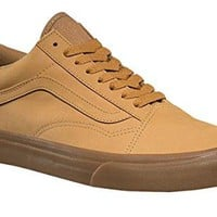 Vans Unisex Shoes Old Skool Light Gum Mono Skate Fashion Sneakers VN0A38G1OTS