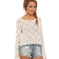 O'Neill Colleen Crochet Lace Top