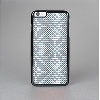 The Knitted Snowflake Fabric Pattern Skin-Sert for the Apple iPhone 6 Plus Skin-Sert Case