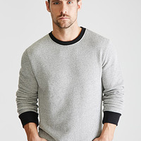 Marled French Terry Pullover