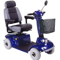 HS-580 Mid Range Scooter HS-580 - CTM Homecare 4-Wheel Midsize Scooters   TopMobility.com