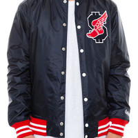 The Fast Money Dugout Jacket in Navy
