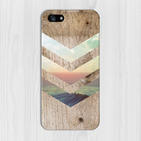 California Skies x Ocean Wood Design Phone Case for iPhone 6 6 Plus iPhone 5 5s 5c iPhone 4 4s Samsung Galaxy s6 s5 s4 & s3 and Note 4 3 2