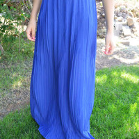 Pleats of Mind Maxi Skirt