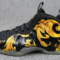 Nike Air Foamposite Pro Yellow Sneaker Size 41-46