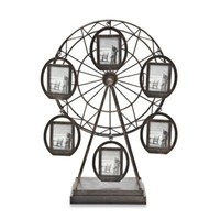 Godinger 6-Picture Rotating Ferris Wheel Frames