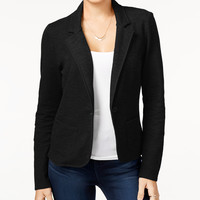 Freshman Juniors' Ponte-Knit Blazer - Juniors Sweaters - Macy's
