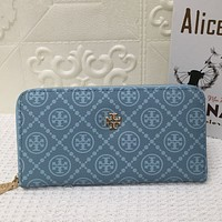 TORY BURCH Women Leather Print High Quality Wallet Purse