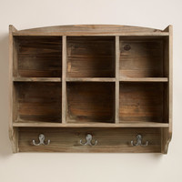 Elliot Cubby and Hook Wall Storage - World Market