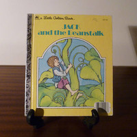 "Vintage 1973 Children's Book ""Jack and the Beanstalk - A little Golden Book / Kids Book / Great Condition"