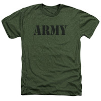 ARMY/ARMY-ADULT HEATHER-MILITARY GREEN