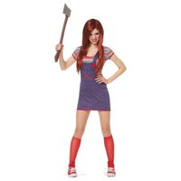 Chucky Costume Adult Halloween Fancy Dress