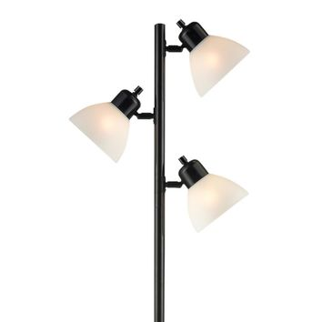 Light Accents 3 Light Tree Style Floor Lamp with Adjustable Lights