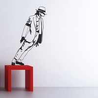 Michael Jackson Smooth Criminal wall decals by Couture Deco