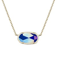 Elisa Pendant Necklace in Iridescent Cobalt - Kendra Scott Jewelry