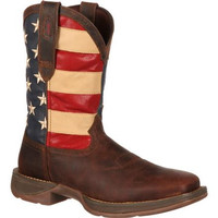 Rebel by Durango Patriotic Pull-On Western Boot W