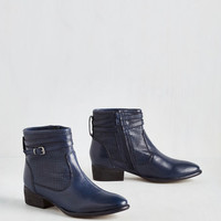 Sanctuary Bootie in Navy by Seychelles from ModCloth