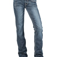 Stetson 818 Classic Boot Cut Jean with Arrow Stitching