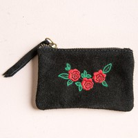 Mini Rose Coin Pouch - Bags & Backpacks - Accessories