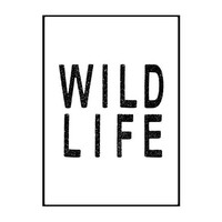 wild life / A3 poster