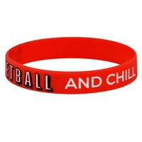 Basketball and Chill Wristband