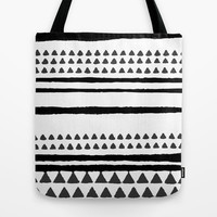 handrawn lines Tote Bag by SpinL