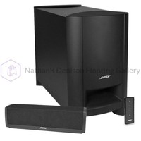Bose CineMate 10 Sound Bar Home Theater System w/Subwoofer & Remote (Black)