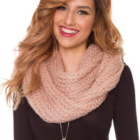 Liberty Infinity Scarf - Rose