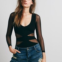 Free People Seamless Cut Out Top