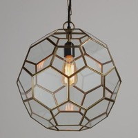 Faceted Glass Paxton Pendant