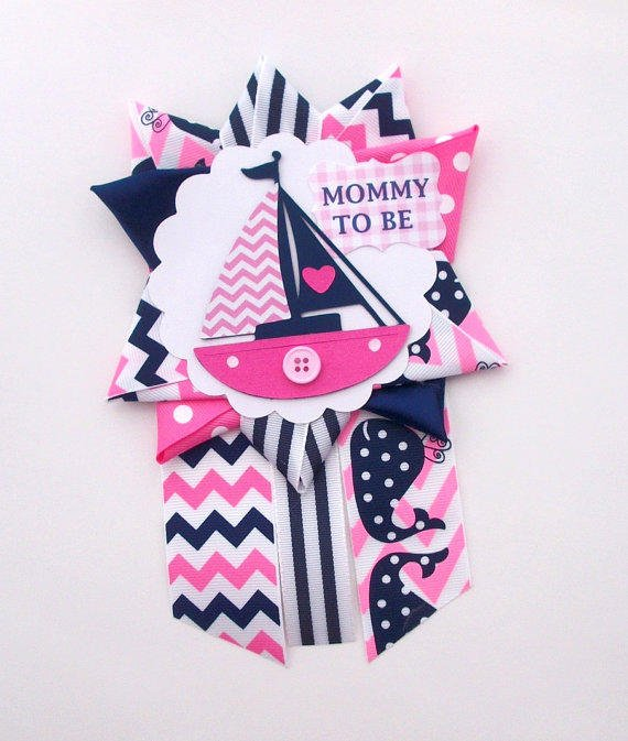 Baby Under Construction Baby Shower Mommy to Be Corsage