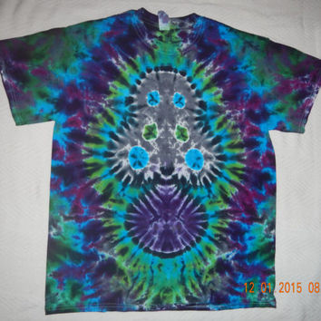 Tie Dye Shirt Mushroom Shroom M Medium T-Shirt, Handmade, Rainbow, Grateful Dead, Hippie, Marley, Pink Floyd, Tiedye, Phish, Zeppelin
