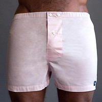 Solid Pink Boxer Short - Kyle One Piece Size L Available